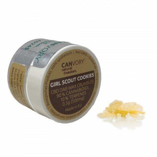 Girl Scout Cookies CBD Cannabidiol Dab Wax 90 , 500 mg - CANVORY