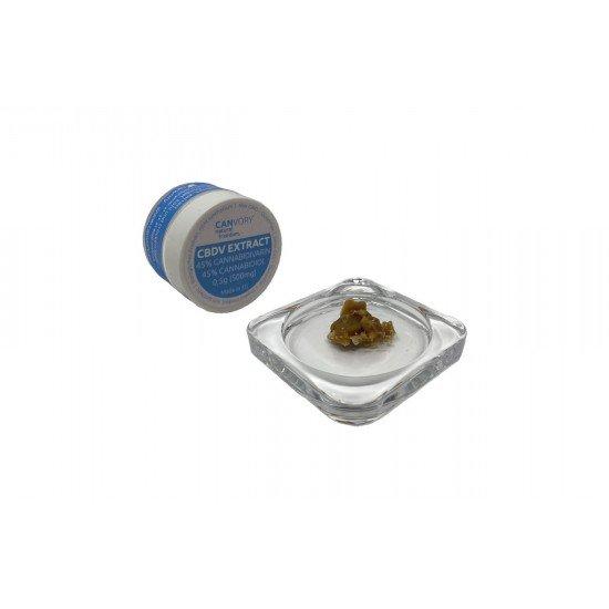 CBDV Cannabidivarin 45 + CBD Cannabidiol 45 extract, 500mg - CANVORY