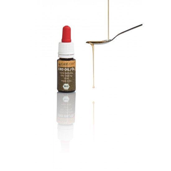 Full spectrum CBD Cannabidiol Hempseed oil 10 %, 1000mg - 10ml