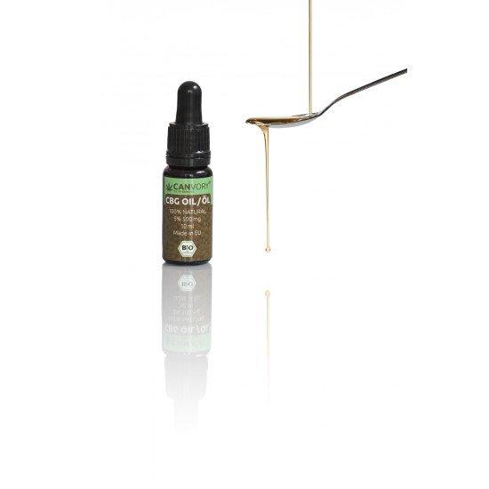 Full spectrum CBG Cannabigerol Hempseed oil 5%, 500mg - 10ml