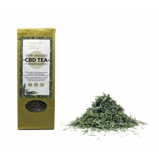 CBD Cannabidiol organic hemp leaf tea original 1 CBD - CANVORY