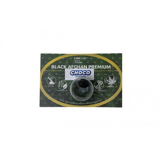 Black Afghan Choco Hashish 30 CBD Cannabidiol Pollinate Dry Extract, 3 grams - CANVORY
