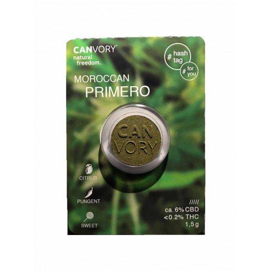 Moroccan Primero Thaler Hash Coin 6% CBD Cannabidiol Pollinate Dry Extract, 1,5 gram