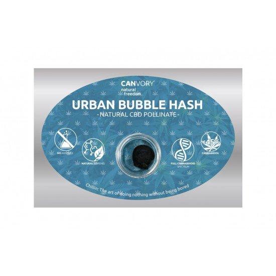 Urban Bubble Hashish 45 CBD Pollinate Cannabidiol Dry extract, 1 gram - CANVORY